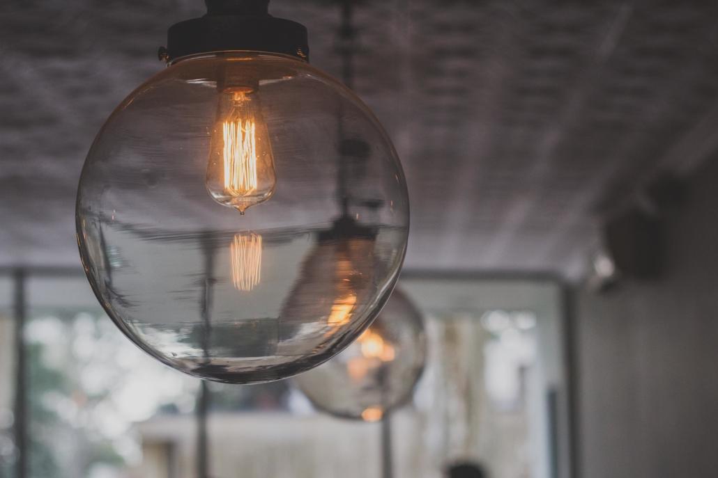 Decoración con luces en interior